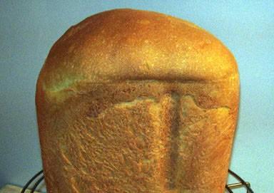 Молочный хлеб.