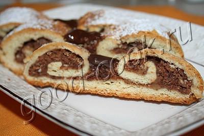 Хорватское печенье «Дедушкины усы»
