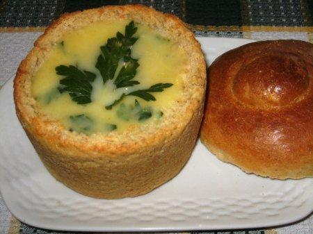 Съедобные горшочки для супа