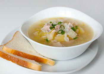 Рисовый суп с индейкой