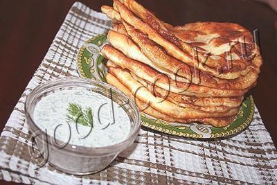 Тонкие пирожки с картошкой «Лапти»