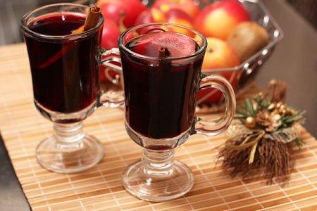 «Пылающее вино» и Глинтвейн с желтком