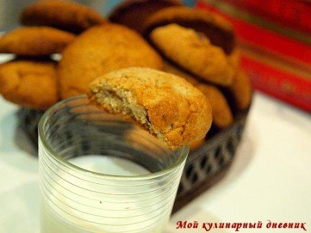 Овсяное печенье с сушеной клюквой