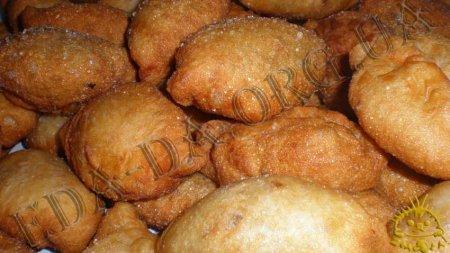 Жареные пирожки с ливером