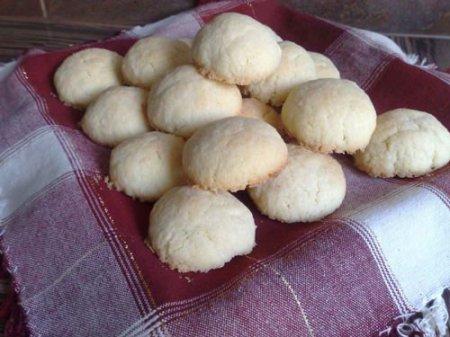 Кокосовое печенье «Кокосовые снежки»