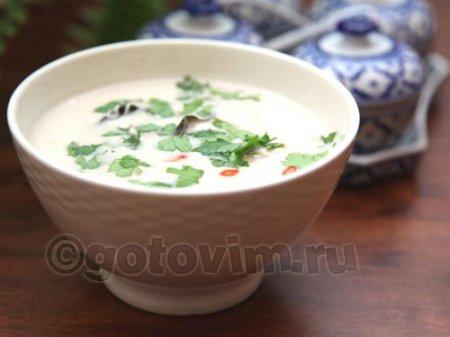 Суп Tom Kha Gai (Том Кха)