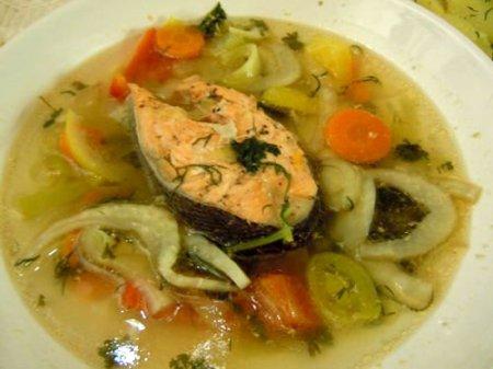 Не суп из форели