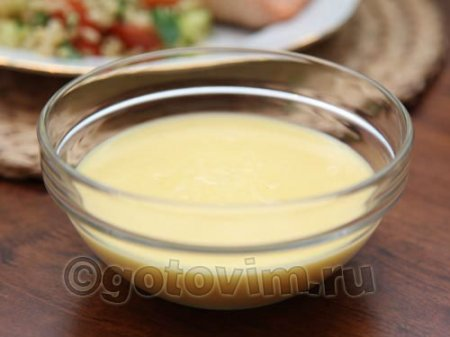 Английский масляный соус