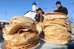 В Челябинске соорудят самый высокий «торт» из блинов