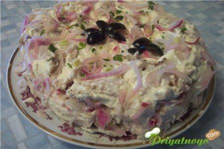 Салат «Изюминка»