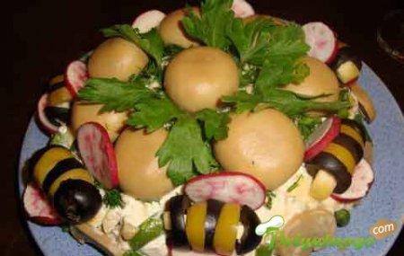 Салат «Пчёлка»