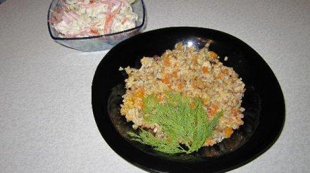 Каша рисово-гречнево-пшёная