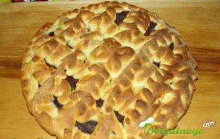 Пирог с косичками