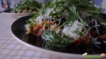 Паста, почти вегетарианская