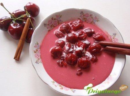 «Суп» из вишен