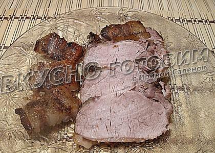 Свинина в соевом соусе и горчице