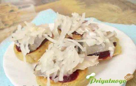 Картофельные бутербродики