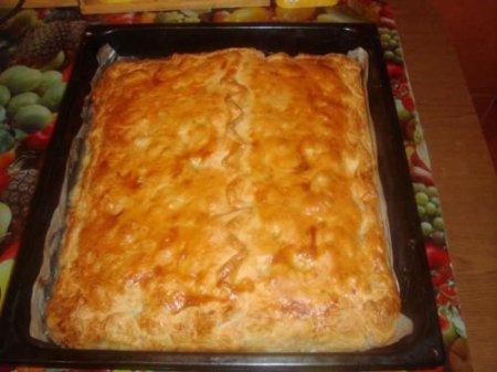 Картофельно-рыбный пирог