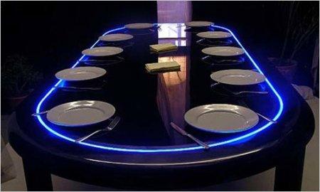 Сервировка стола в современном стиле