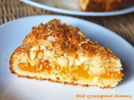 Йогуртовый пирог с абрикосами