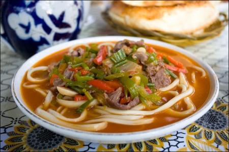 Лагман по-узбекски