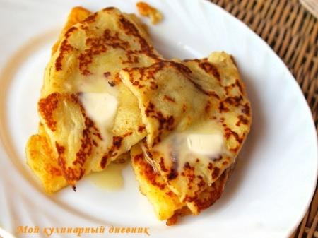 Ирландские картофельные лепешки (картофельный фарл)