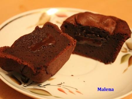 Шоколадный фондан (Fondant au chocolat)