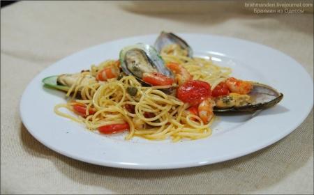 Спагетти под аккомпанемент