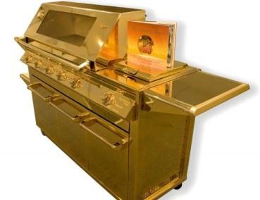 Придумали золотое барбекю