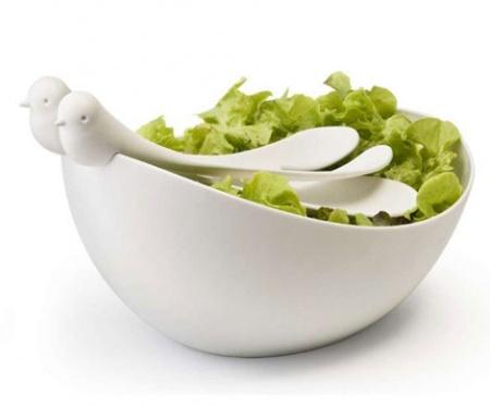 Необычная посуда: салатницы