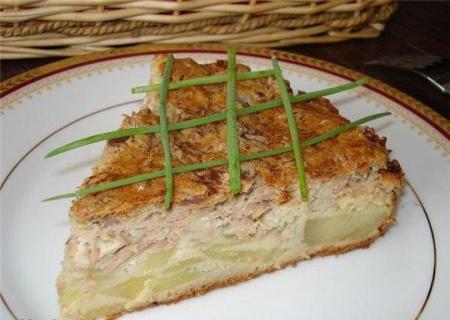 Рыбный пирог «Гость на пороге»