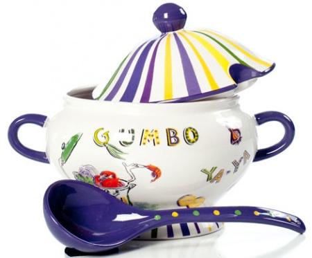Необычная посуда: супницы