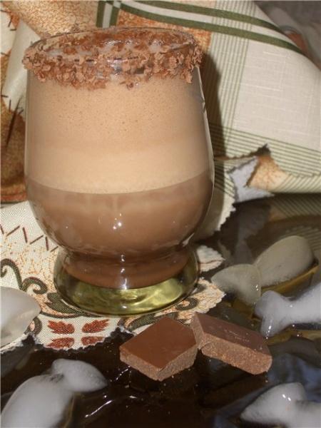 Коктейль «Шоколадный искуситель»