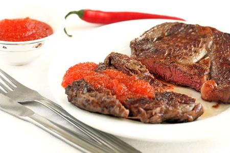 Соус-варенье из острого перца к мясу