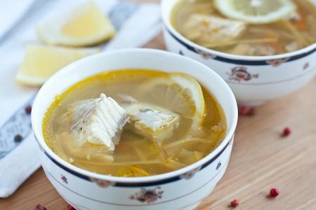 Суп из осетрины