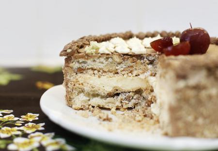 Торт Киевский по домашнему