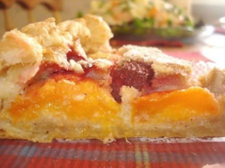 Вкусный ананасовый пирог