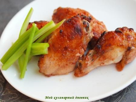 Куриные крылышки по-шанхайски