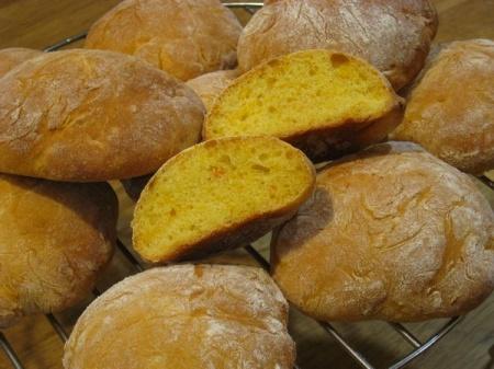Хлебные лепешки с тыквой