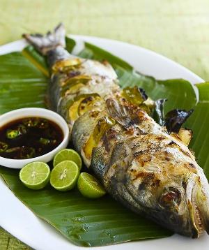 Красная рыба по-праздничному