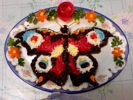 Салат «Бабочка»