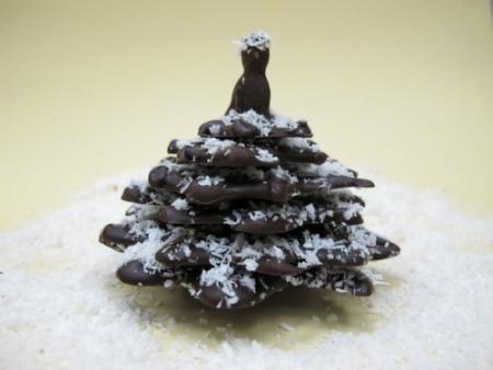 Шоколадная ёлочка