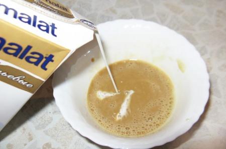 Каштаны с кофейным кремом