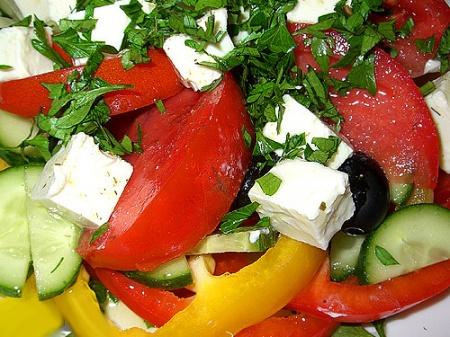 Технология приготовления «Греческого» салата