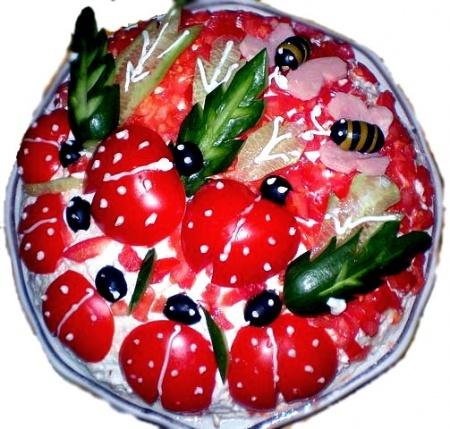 Салат «Мокшанский»