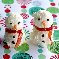Крабовая закуска «Снеговик»