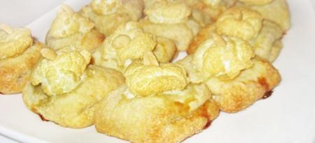 Творожное печенье «Ракушка»