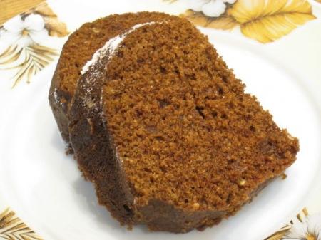 Шоколадный кекс в микроволновке за 8 минут