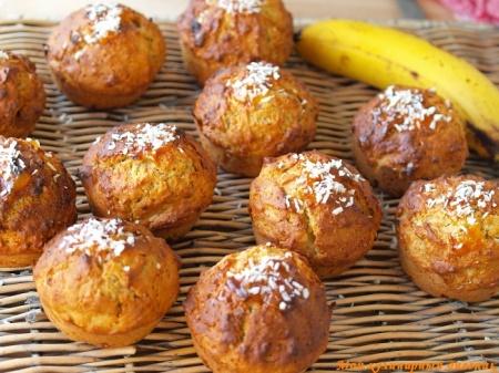 Бананово-медовые маффины