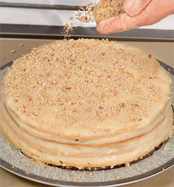 Торт Наполеон по-домашнему